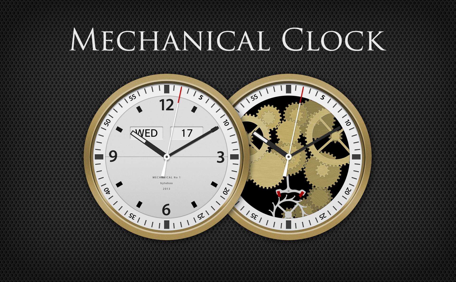 Mechanical Clock Bytebau