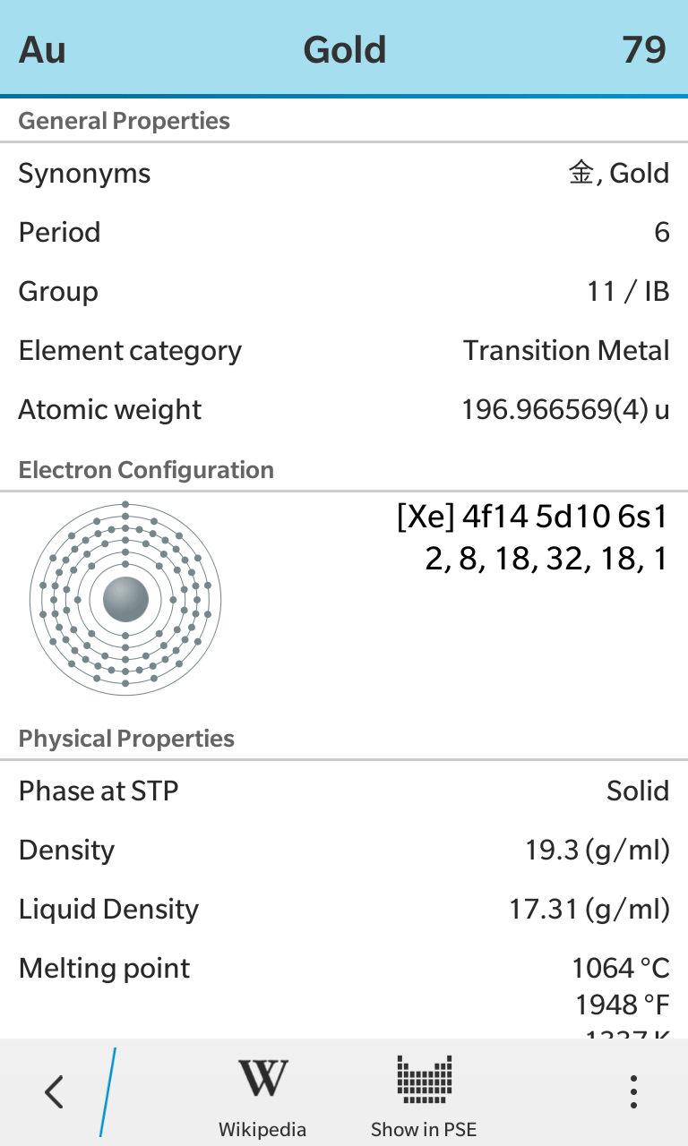 Periodic table bytebau element details 1 gamestrikefo Image collections